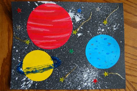 outer space crafts for solar system preschool craft ideas pics about space