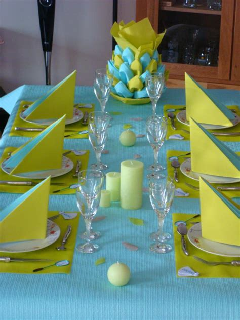 deco de table anniversaire 1 an