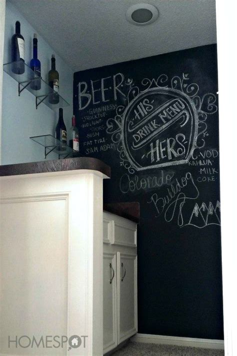chalkboard paint ideas for bar ideas for chalkboard paint