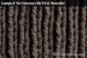 fisherman knitting pattern knitted fisherman rib stitch aka rib a how to