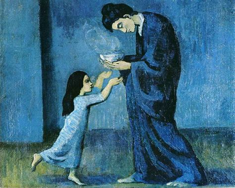 picasso paintings blue picasso s blue period a serendipitous invention