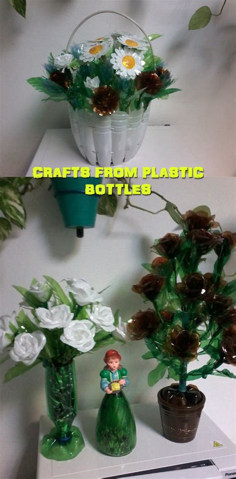 crafts with plastic bottles for crafts from plastic bottles house