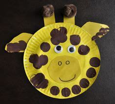 giraffe paper plate craft 1000 images about animal on zebras zebra