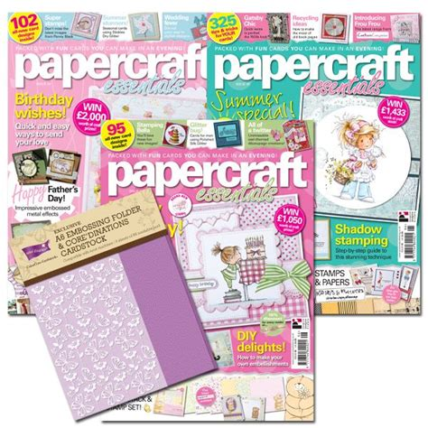 Papercraft Magazine Craft Projects
