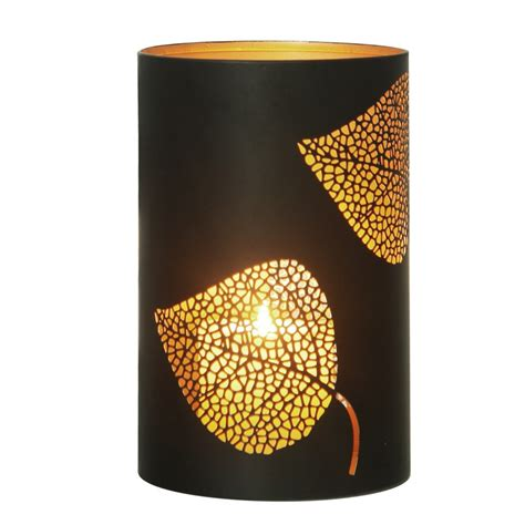 Candle Cylinders by Candle Holders Leaf Metal Cylinder Candle Holders
