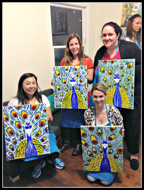 paint nite moncton friday s featured out at paint sip
