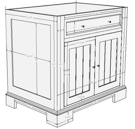 bathroom vanity woodworking plans woodwork plans for vanity cabinet pdf plans
