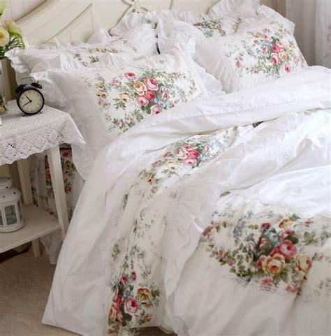 vintage bed set vintage flower lace bed sets cotton