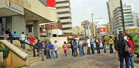 bancos en venezuela bancos venezolanos siguen esperando por los nuevos