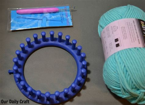 knitting supplies try loom knitting craft challenge day 36 our daily craft