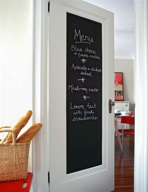 chalk paint toronto chalkboard door contemporary kitchen toronto by