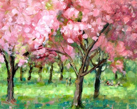 acrylic plein air landscape painting lillian kennedy