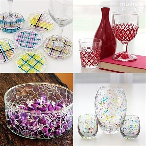 crafts with glass glass paint craft ideas and tips crafts