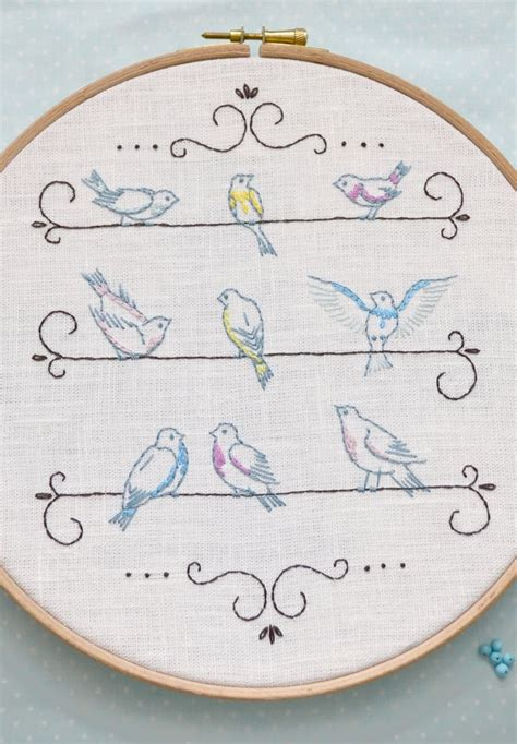 embroidery simple best 25 simple embroidery ideas on