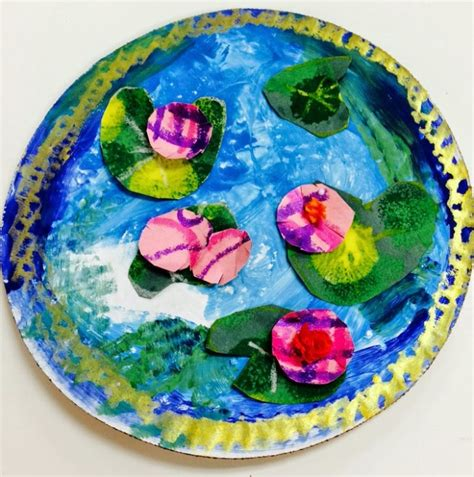crafts projects for top 10 claude monet projects for
