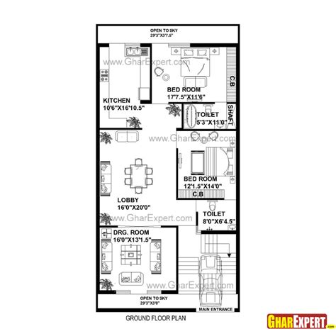 home design story room size home design house plan for by plot plot size