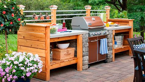 design an outdoor kitchen 10 outdoor kitchen plans turn your backyard into