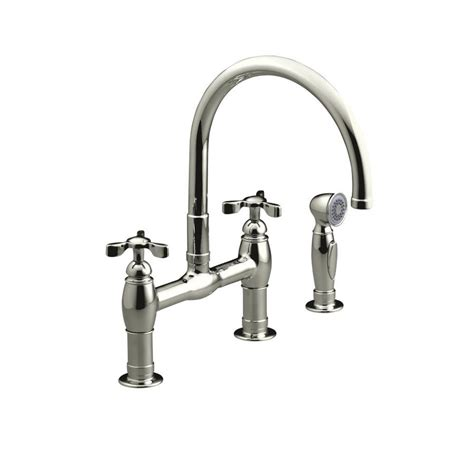 kholer kitchen faucets kohler polished brass kitchen faucet