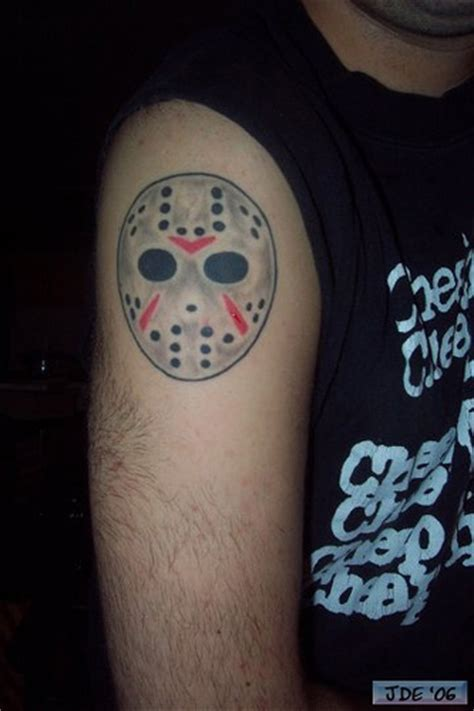 jason voorhees tattoos 39 this photo was not taken by