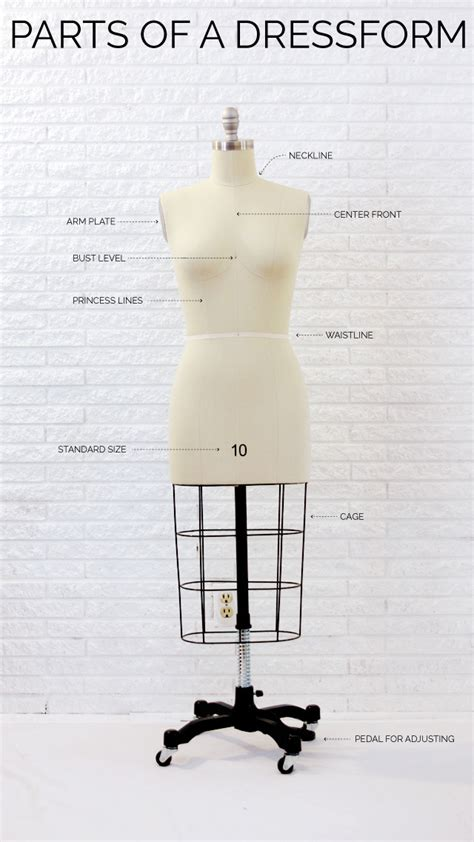 of a sewing 101 parts of a dress form shop company review