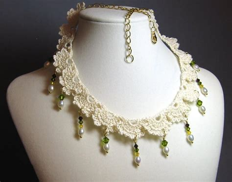 free jewelry free crochet jewelry patterns crochet club