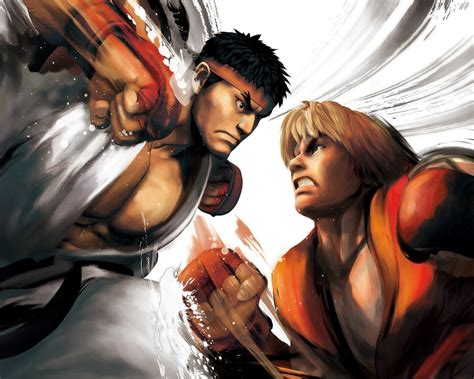 Home Design Game ryu vs ken street fighter 5 game hd wallpaper 1280x1024