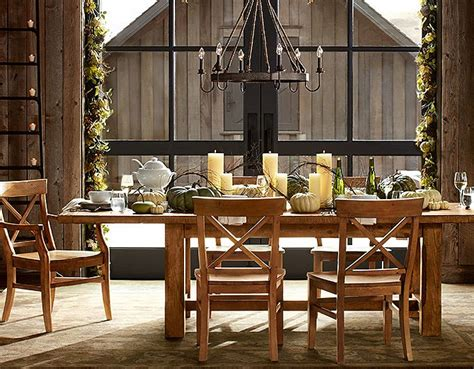 pottery barn dining room fall winter 2013 inspired by pottery barn home