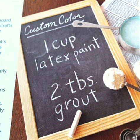 diy chalkboard grout 478 best images about painted furniture on