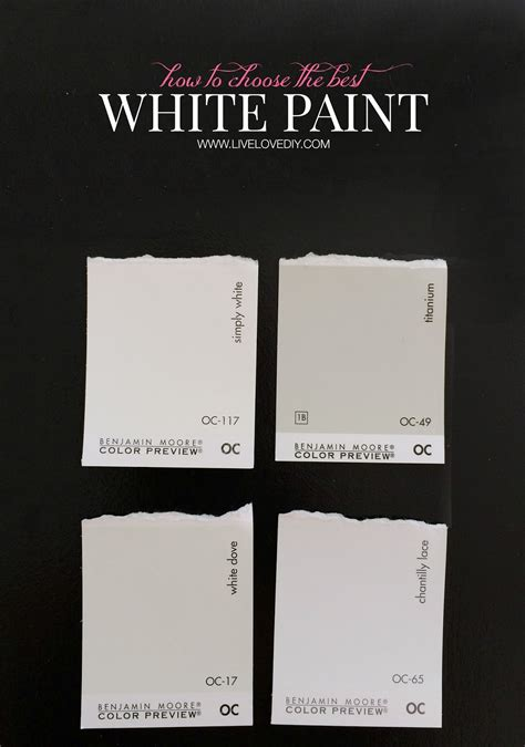 decorators white vs white dove how to choose a paint color 10 tips to help you decide