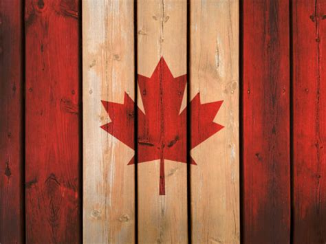 wooden canada canada flag background tutorial