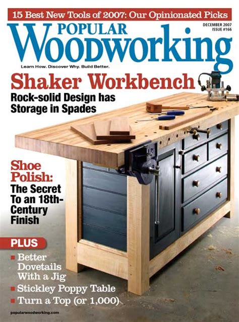 woodworking publications popular woodworking magazine index