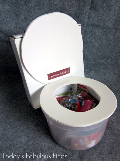 box ideas today s fabulous finds flushing toilet box