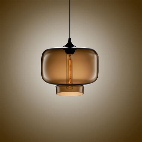 glass kitchen light fixtures simple modern pendant lights with glass l shade in