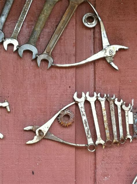 vintage this repurpose that salvaged repurposed tools into fish wrenches