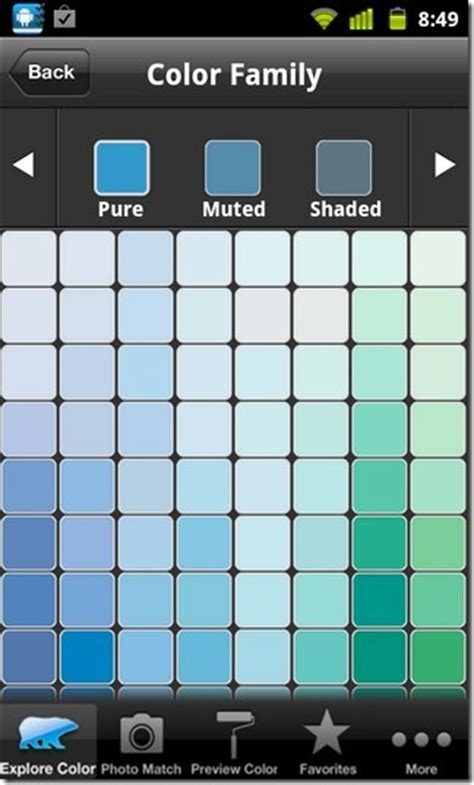 behr paint color tool colorsmart for android eye dropper tool for behr paint