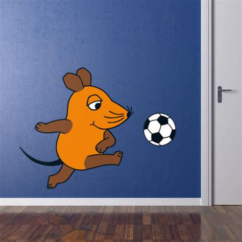 soccer wall stickers the mouse plays soccer wall sticker wall