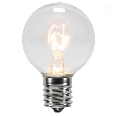 light replacement bulbs lights g40 transparent clear 7 watt