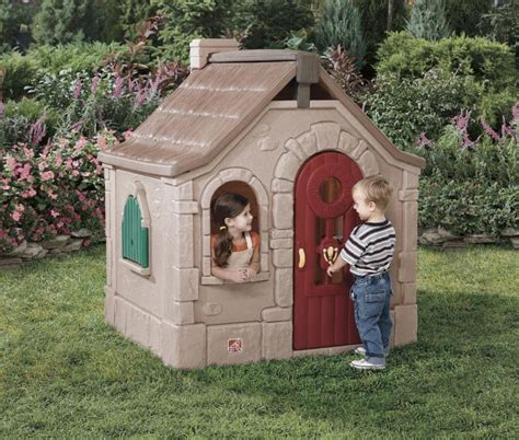 step 2 playhouse storybook cottage step2 naturally playful storybook cottage skroutz gr