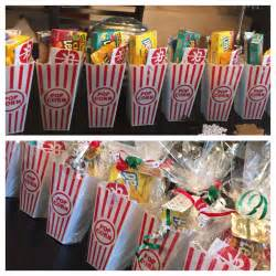 staff gifts gift for my employees ticket popcorn