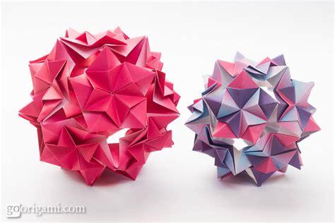 origami kusudamas this week in origami august 8 2015 edition