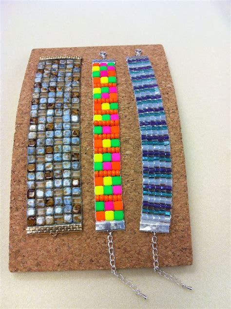 beadalon bead loom loom cuff bracelets by julianna loom jewelry