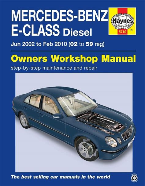 how to download repair manuals 1996 mercedes benz s class interior lighting mercedes e class w211 e220 e270 e280 e320 cdi 2002 2009 haynes manual 5710 ebay