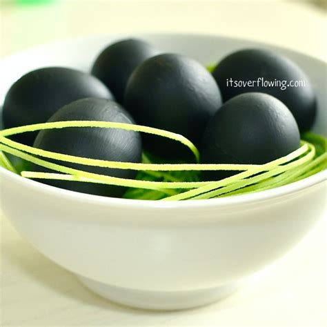 chalk paint for grass chalkboard paint easter eggs its overflowing simply