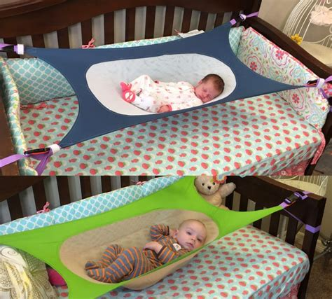 cribs for babys crescent womb a newborn crib hammock which helps reduce