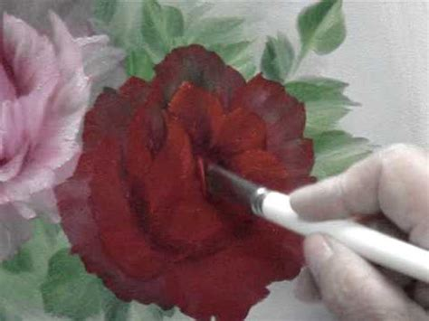 bob ross painting roses no3 painting