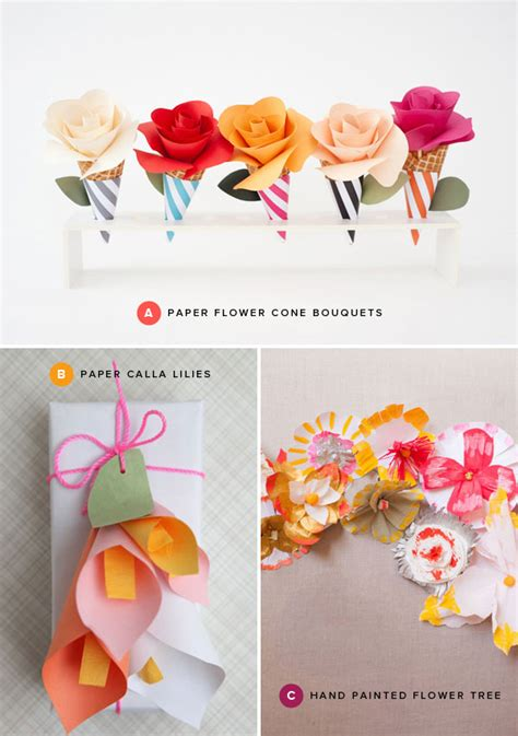 paper craft of flowers paper flower crafts