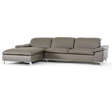 contemporary sectional leather sofa contemporary grey eco leather sectional sofa 44l5924