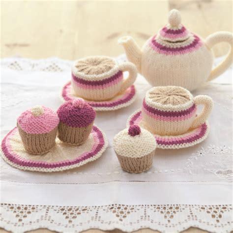 knitting set knitted tea set for tea