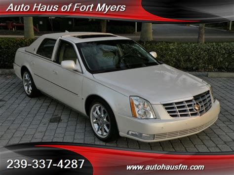 Cadillac Of Fort Myers by 2010 Cadillac Dts Luxury Collection Ft Myers Fl For Sale