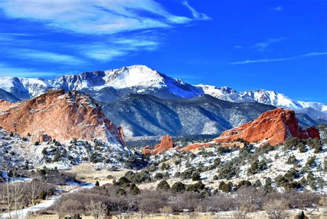 Garden Of The Gods Winter Winter At The Garden Of The Gods By Jawahunter003 On